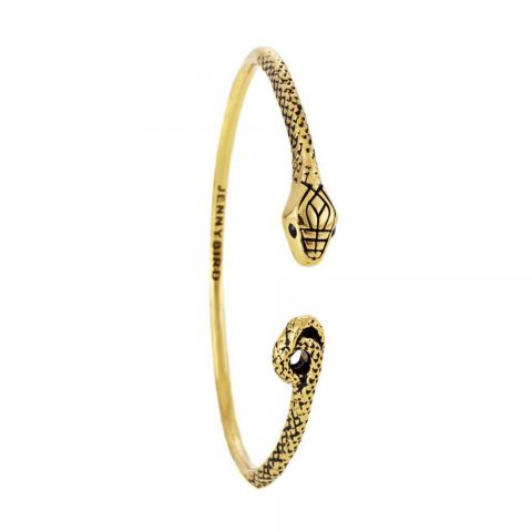 Jenny Bird Kundali Queen Serpent Bangle in Gold as seen on Meghan Markle Instagram.