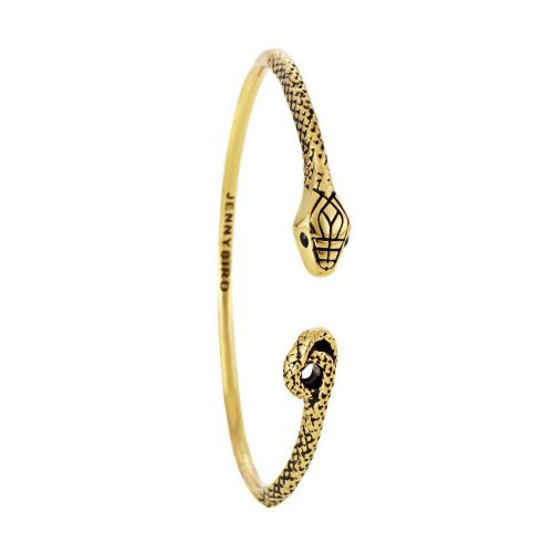 Jenny Bird Kundali Queen Serpent Bangle in Gold as seen on Meghan Markle Instagram.