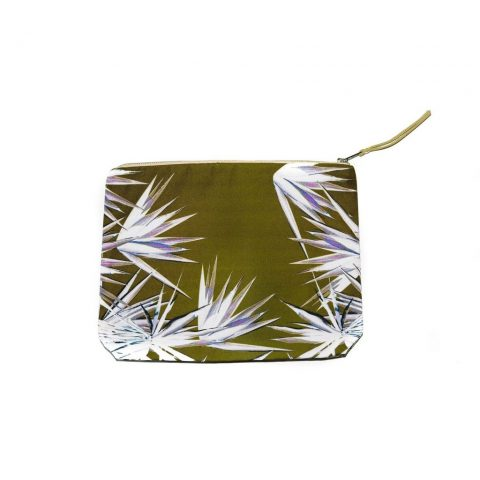 Legend of Lido Jagged Palm Pouch as seen on Meghan Markle