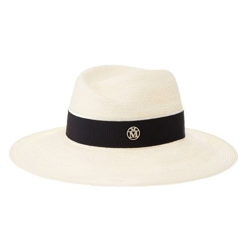 Maison Michel Virginie Fedora Hat as seen on Meghan, Duchess of Sussex