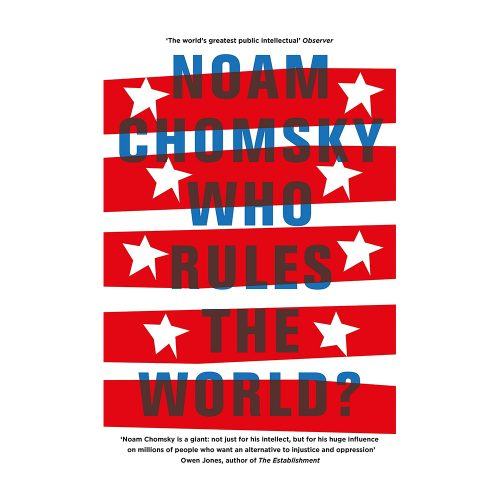 Who Rules the World? book by Noam Chomsky as read by Meghan Markle and seen on her Instagram