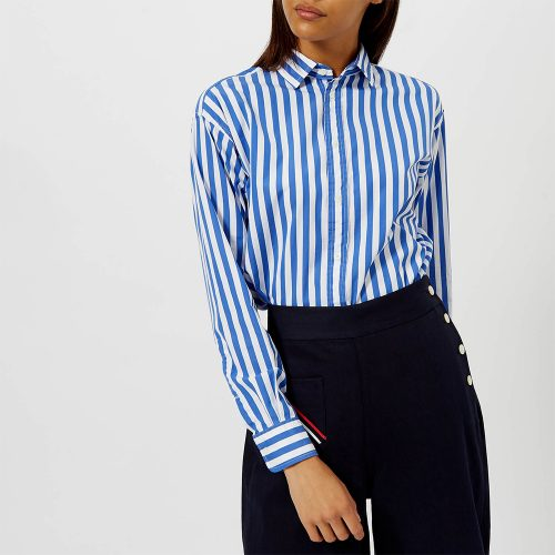 Polo Ralph Lauren Ramsey Stripe Shirt as seen on Meghan Markle, Duchess of Sussex