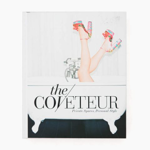 Coveteur: Private Spaces, Personal Style coffee table book as seen on Meghan Markle's Instagram.