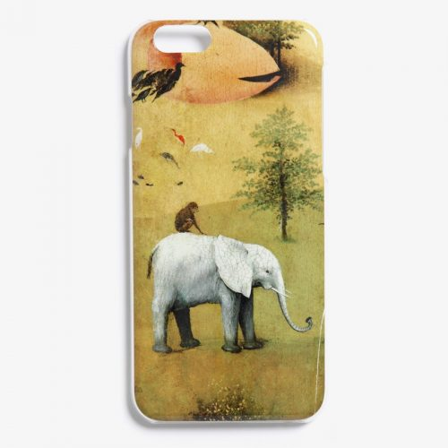 "The Garden of Earthly Delights ""Elephant"" iPhone case as used by Meghan Markle"
