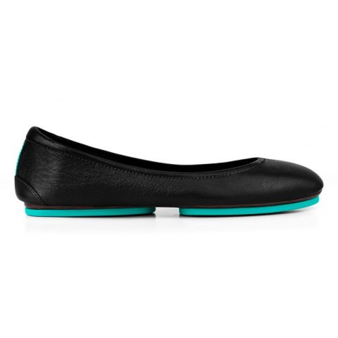 Tieks Matte Black Ballet Flats as seen on Meghan Markle