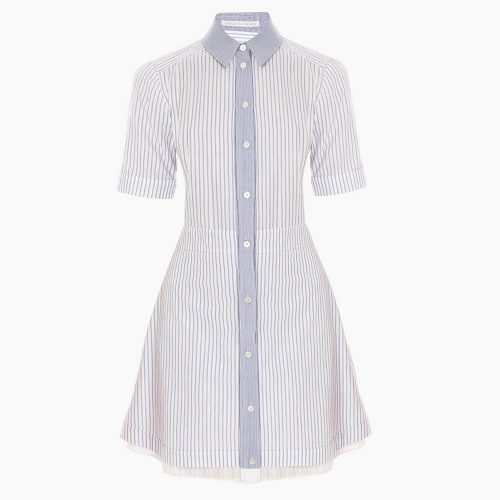 Veronica Beard Ginger Shirt Dress as seen on Meghan Markle