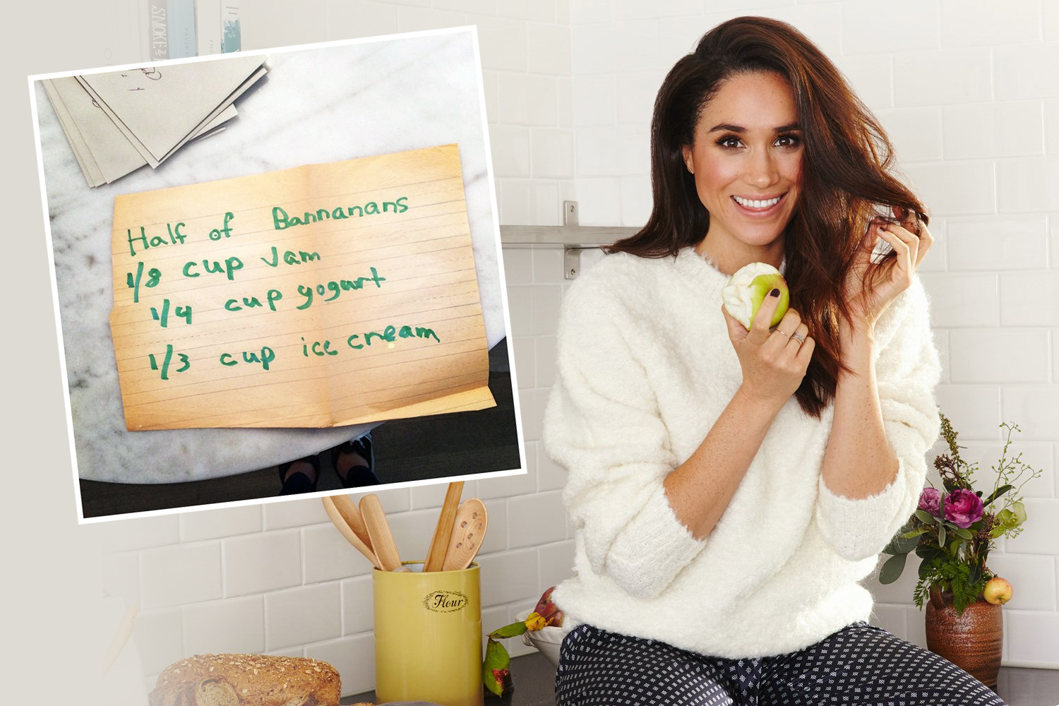 Meghan Markle's Childhood Banana Milkshake Recipe