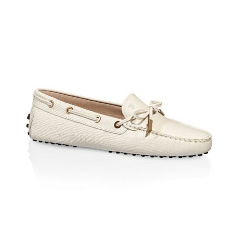 Tod's Gommino Moccasins as seen on Meghan Markle