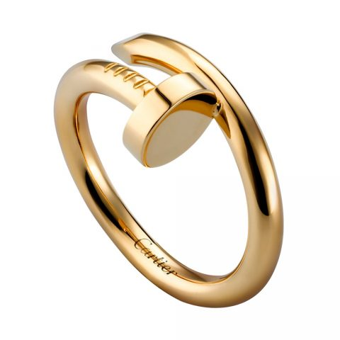 Cartier Yellow Gold Juste un Clou Ring as seen on Meghan Markle