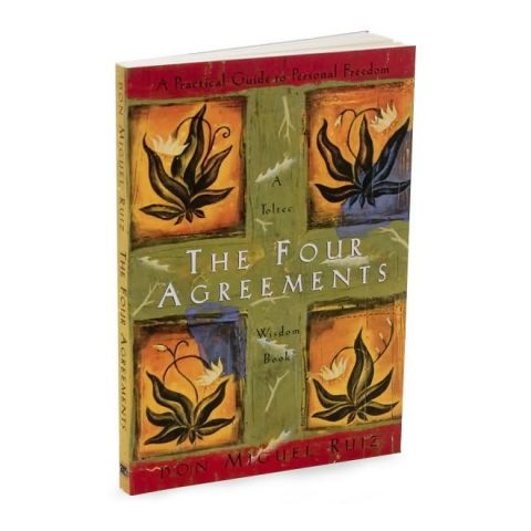 The Four Agreements by Don Miguel Ruiz as read by Meghan Markle and seen on her Instagram
