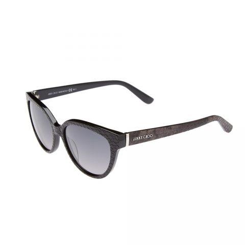 Jimmy Choo 'Odette' Snake-embossed Cat Eye Sunglasses as seen on Meghan Markle