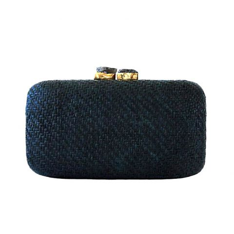 Kayu 'Anna' Woven Straw Clutch as seen on Meghan Markle, Duchess of Sussex
