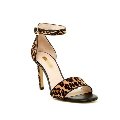 Louise et Cie 'Orla' High Heel Leopard Print Sandal as seen on Meghan Markle