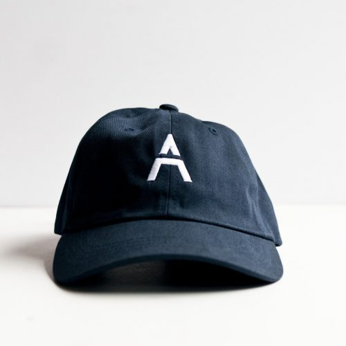 Ace Hill beer navy hat with white logo as seen on Meghan Markle