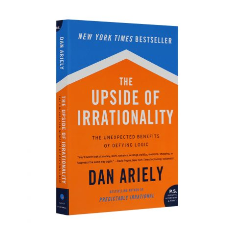 The Upside of Irrationality: The Unexpected Benefits of Defying Logic by Dan Ariely as read by Meghan Markle and seen on her Instagram.