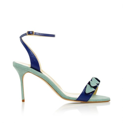 Sarah Flint Anne Two Toned Sandals as seen on Meghan Markle