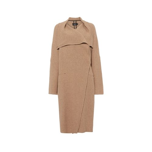 Turnover Sesame Long Coat as seen on Meghan Markle