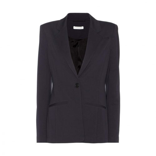 Altuzarra 'Acacia' one-button blazer in Black as seen on Meghan Markle, Duchess of Sussex