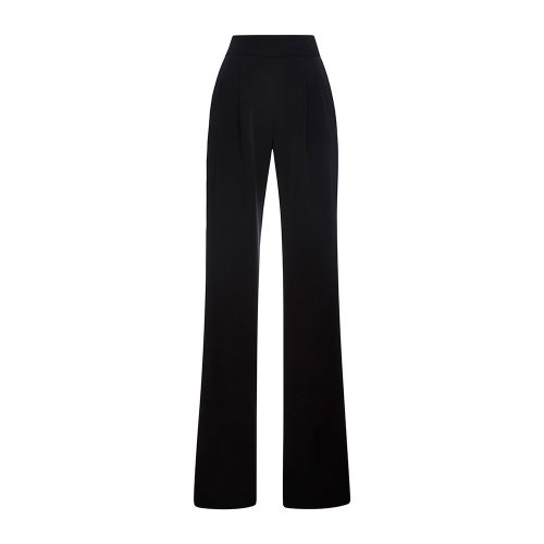 Misha Nonoo Black Essential Crepe Daphne Pant as seen on Meghan Markle
