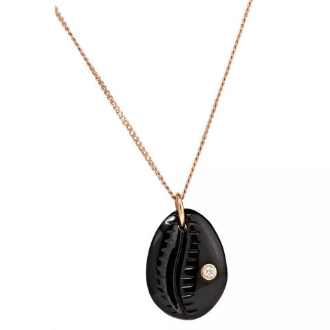 Pascale Monvoisin 'Cauri N°2' Necklace as seen on Meghan, Duchess of Sussex