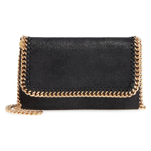 Stella McCartney Shaggy Deer Faux Leather Crossbody Bag as seen on Meghan Markle, Duchess of Sussex