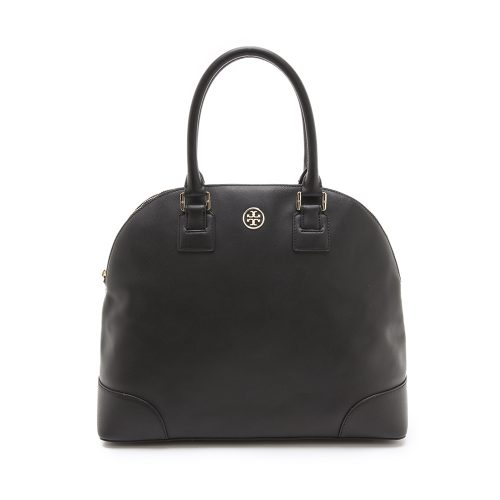 Tory Burch Robinson Dome Satchel as seen on Meghan Markle