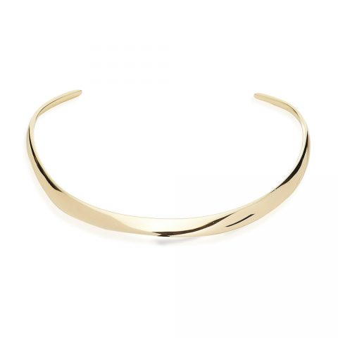 AURate 18K gold collar necklace as seen on Meghan Markle