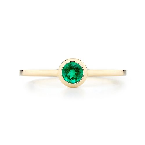 Ecksand Emerald Stackable Ring as worn by Meghan, Duchess of Sussex