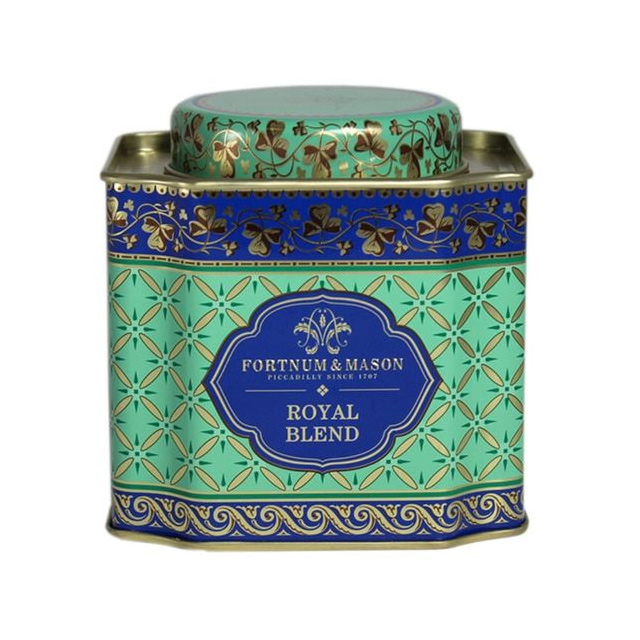 Fortnum & Mason Royal Blend Tea Decorative Caddy as used by Meghan, Duchess of Sussex