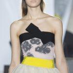 Giambattista Valli Couture Spring 2014 strapless bow top as seen on Meghan Markle