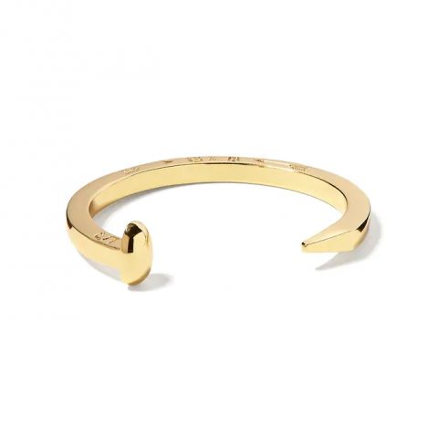 Giles & Brother Gold Original Railroad Spike Cuff as seen on Meghan Markle