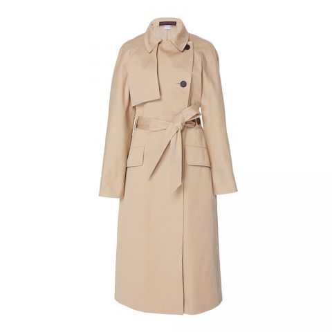 Classic Cotton Straight Cut Trench Coat as seen on Meghan, Duchess of Sussex.