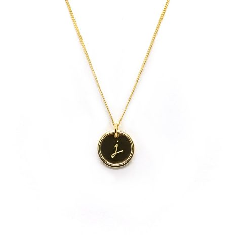 Natalie Marie Precious Initial Necklace as worn by Meghan Markle / Duchess of Sussex