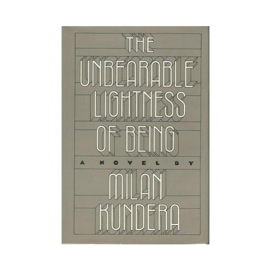 The Unbearable Lightness of Being: A Novel by Milan Kundera (first edition) as read by Meghan Markle and seen on her Instagram.