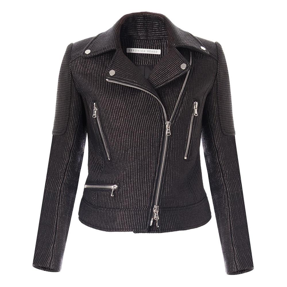 Veronica Beard Bonita Biker Moto Jacket as seen on Meghan Markle