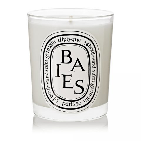 Diptyque Baies scented candle as seen in Meghan Markle's Toronto home on her Instagram.