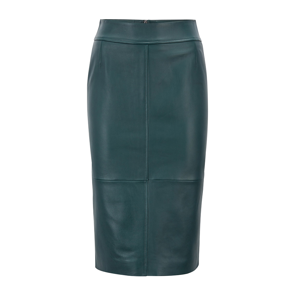 Hugo Boss Leather Pencil Skirt as seen on Meghan, Duchess of Sussex
