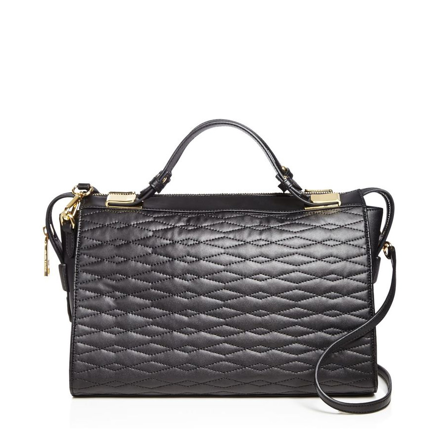 Ivanka Trump Bedminster Quilted Satchel Bag as seen on Meghan Markle