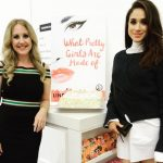 """Lindsay Jill Roth and Meghan Markle at """"What Pretty Girls Are Made Of"""" book launch in 2015."""