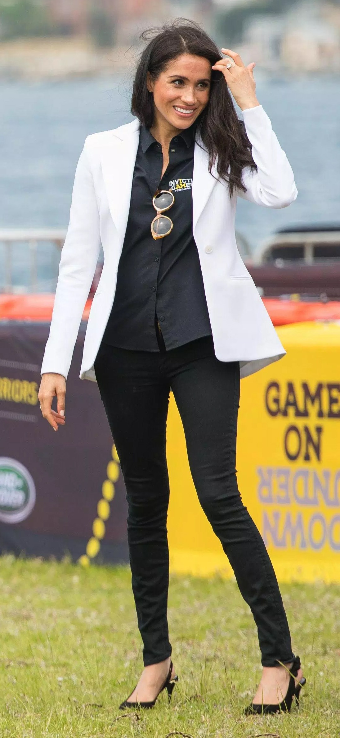 Meghan, Duchess of Sussex at the Invictus Games Sydney 2018.
