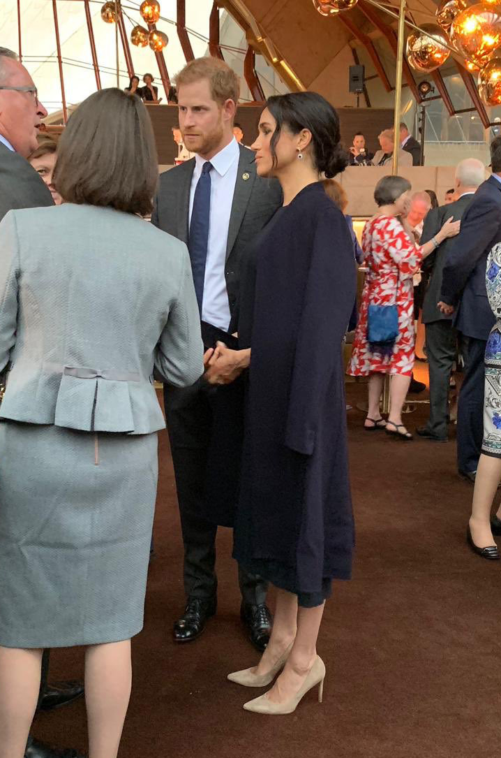 Meghan. Duchess of Sussex at the Invictus Games Sydney 2018 opening ceremony.