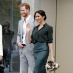 Meghan, Duchess of Sussex visiting Sussex on 3 October, 2018.