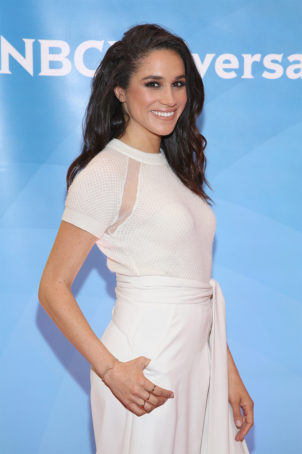 Meghan Markle at the 2015 NBC New York Summer Press Day