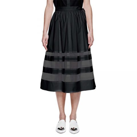 Misha Nonoo Silk Organza Skirt as seen on Meghan Markle