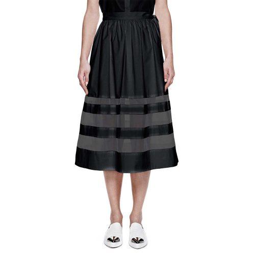 Misha Nonoo Silk Organza Skirt as seen on Meghan Markle