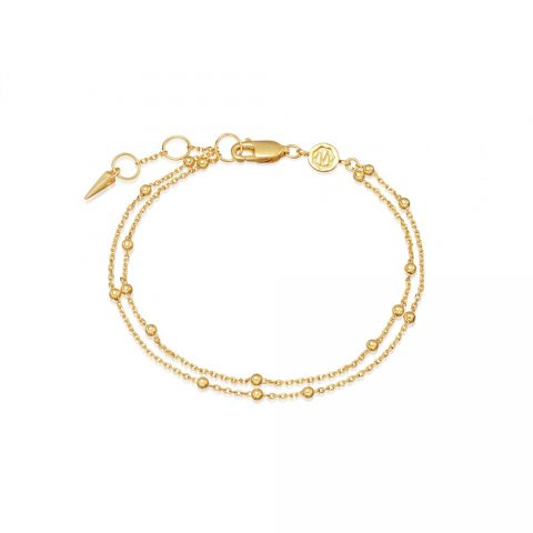 Missoma Double Chain Bracelet as seen on Meghan Markle, Duchess of Sussex