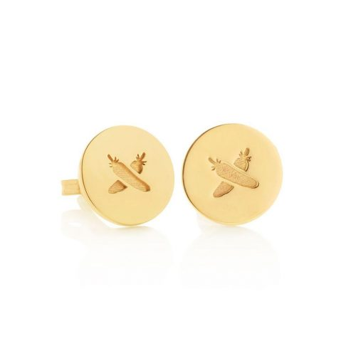 Boh Runga Discologo Studs as seen on Meghan, Duchess of Sussex