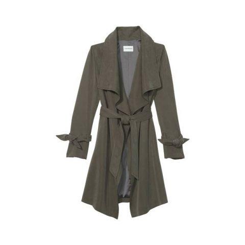 Club Monaco 'Ellayne' tie trench coat as seen on Meghan, Duchess of Sussex