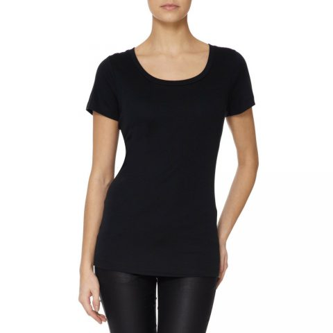 Scoop Neck T-shirt as seen on Meghan, Duchess of Sussex