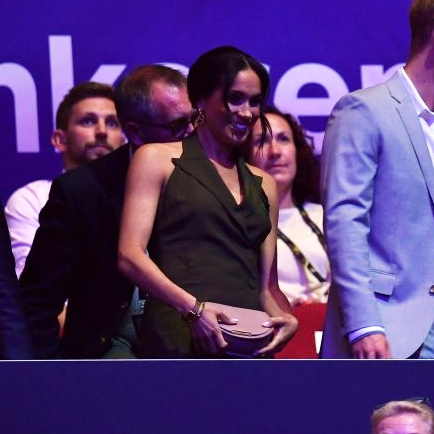 Meghan, Duchess of Sussex, at the 2018 Invictus Games Closing Ceremony.